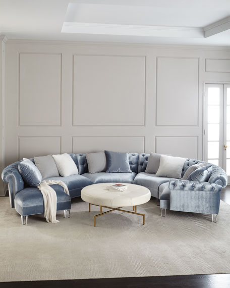 Haute House Varianne Curved Sectional So