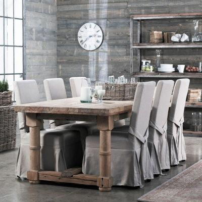 Dining chair slip covers | Dining room chair covers, Dining chair .