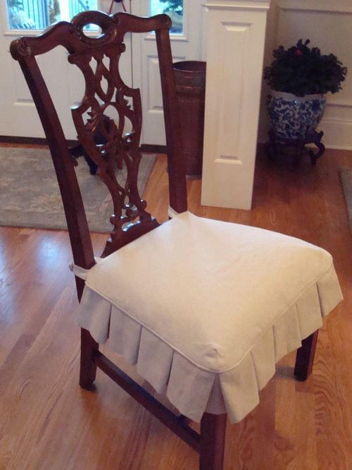 Dining Chair Slipcovers - Dining Chair seat slipcover | Dining .