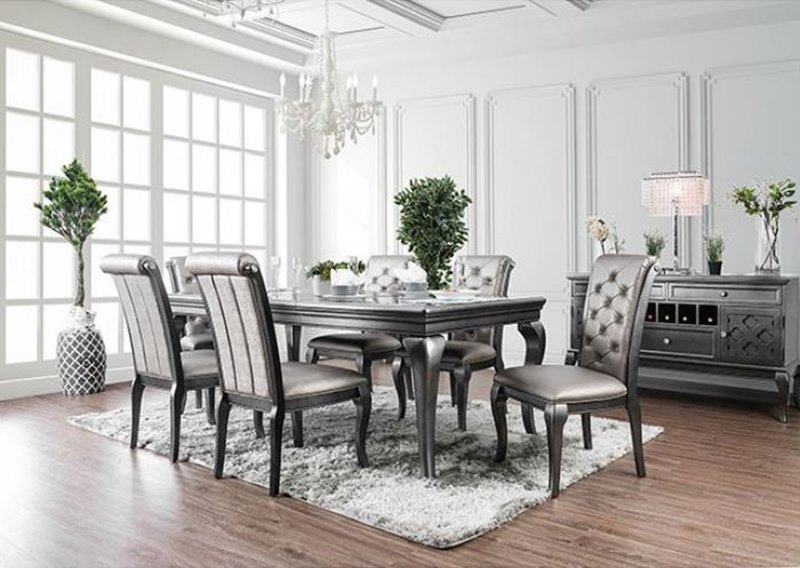 Furniture of America | CM3219GY-T Amina Dining Room Set .