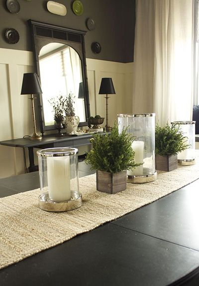 Top 9 Dining Room Centerpiece Ideas | Dining room table .