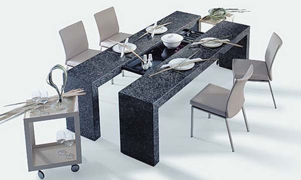 30 Modern Dining Tables for a Wonderful Dining Experience .