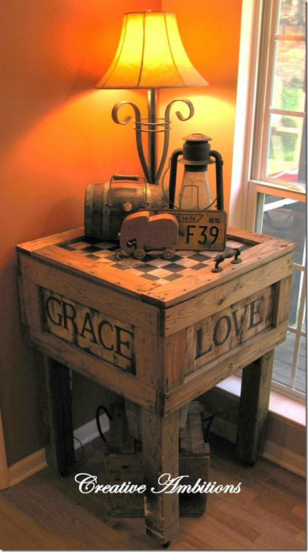 14 DIY Ideas for End Tables - Snappy Pixe