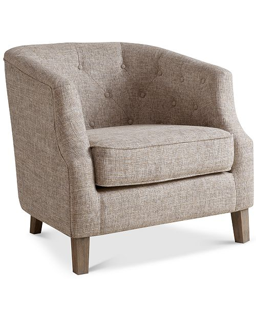 Furniture Penelope Fabric Accent Chair & Reviews - Chairs .