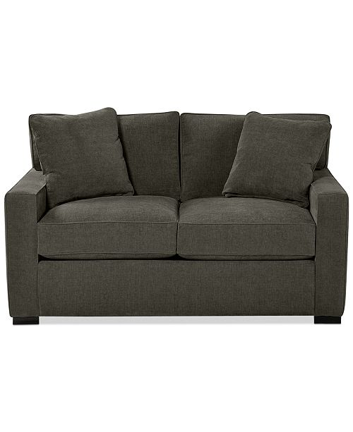 """Furniture Radley 62"""" Fabric Loveseat, Created for Macy's & Reviews ."""