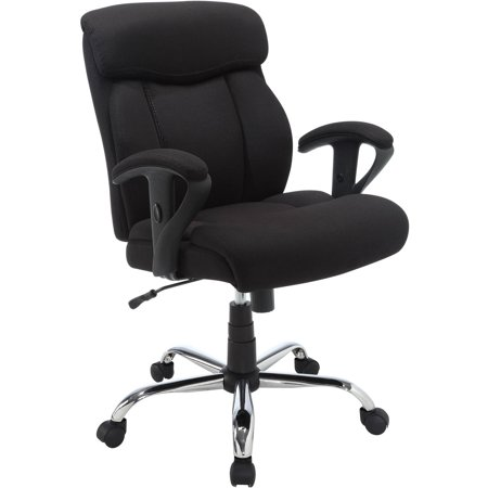 Serta Big & Tall Fabric Manager Office Chair, Supports up to 300 .