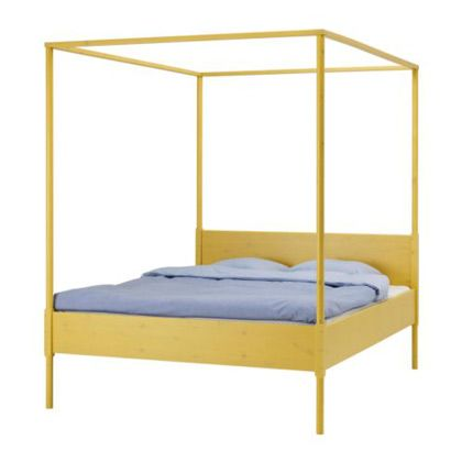 Hemnes Four-poster Bed Frame at Ikea | Ikea hemnes bed, Four .