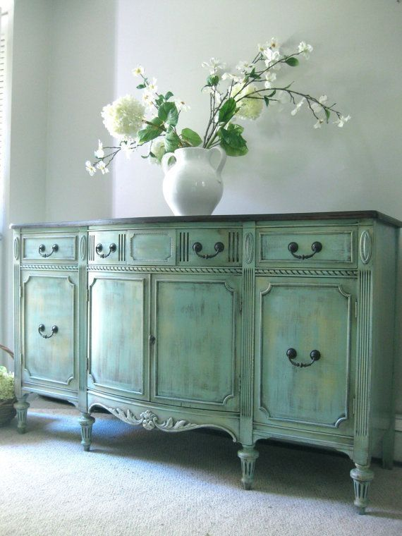 hand painted french furniture | SOLD Vintage Hand Painted French .