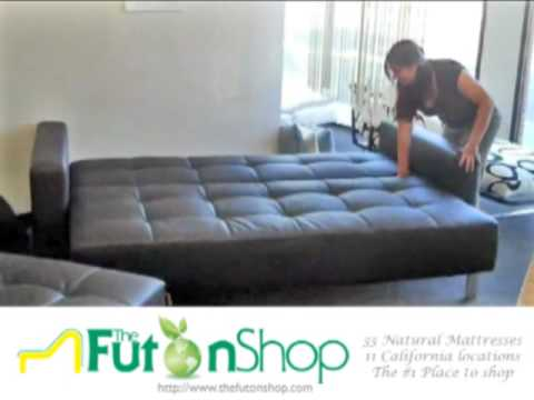 Lincoln Park Futon Sofa Bed from The Futon Shop - YouTu