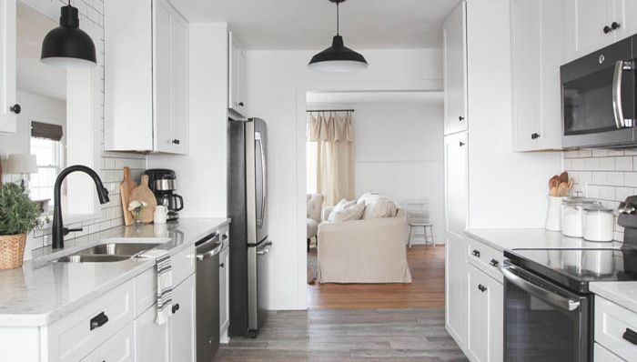 Design Ideas for a Galley Kitch