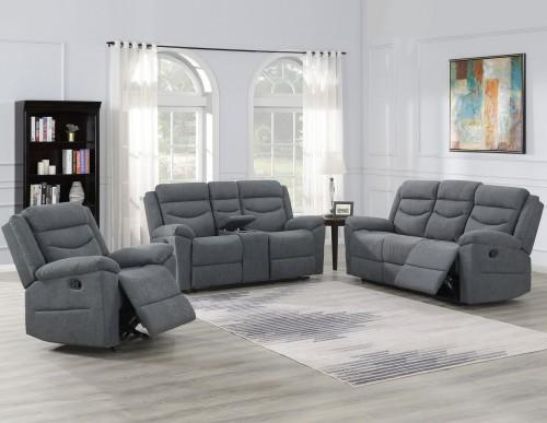 WEEKLY or MONTHLY. Chenango Couch Set in Dark Gray – Community .