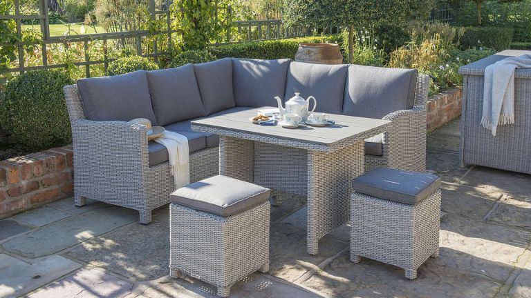 Tips to Decorate your Rattan Garden Furniture - AleshaTe
