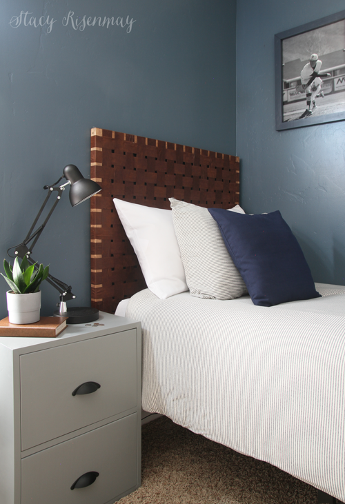 Woven Leather Headboards - Stacy Risenm