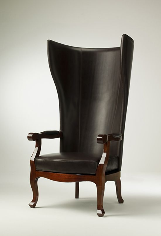 Armchairs - HIGH BACK WING ARMCHAIR DESIGN XVV from .