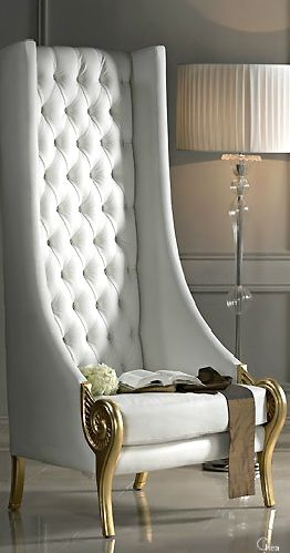 THIS!!!!!! Luxury Home Design- Lady Luxury chair, – HIGH BACK .
