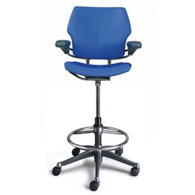 Humanscale Freedom Ergonomic Drafting Leather High Office Cha