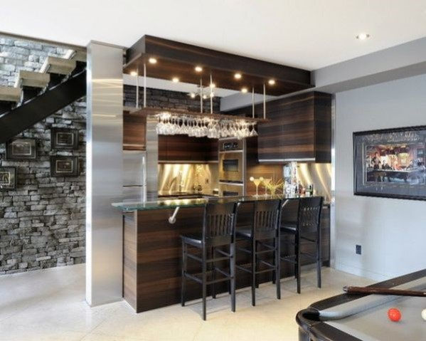 Top 40 Best Home Bar Designs And Ideas For Men - Next Luxu