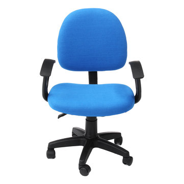 compact office chair home study work lift rotary chair staff seat .