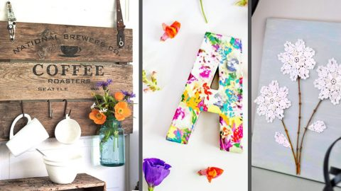 50 Cheap DIY Home Decor Projects That Are Sure To Fit Your Budg