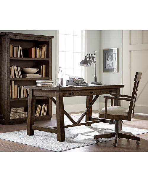 Furniture Ember Home Office Desk Chair & Reviews - Furniture - Macy