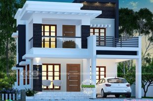 ₹25 lakhs cost estimated double storied home in 2020   Duplex .