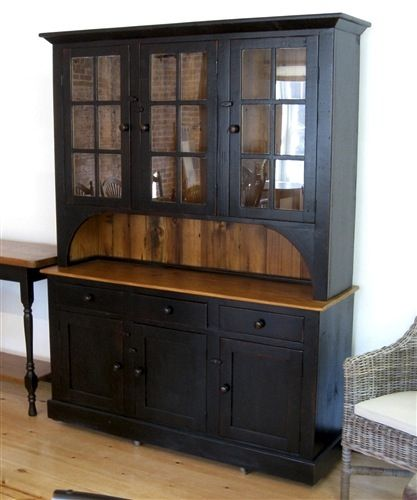Pin on painted hutch