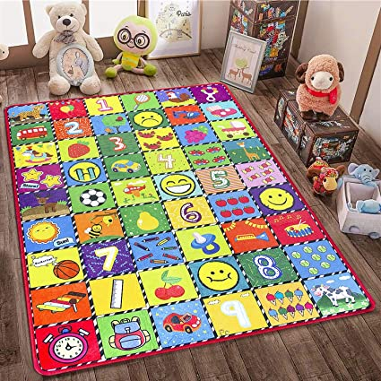 Amazon.com: teytoy Baby Rug for Crawling - How Many Are There .