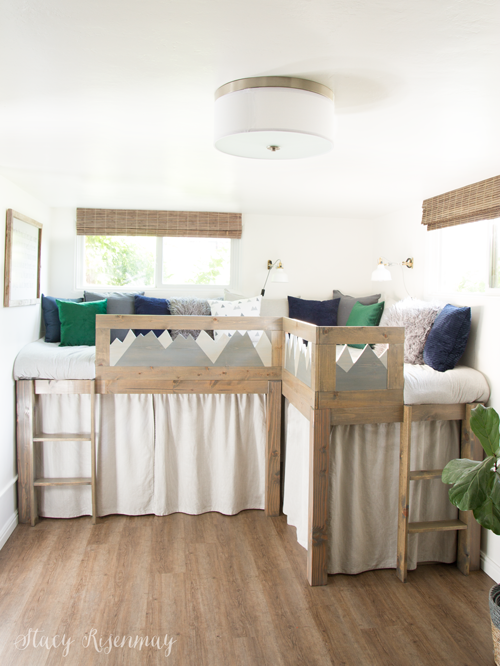 L Shaped Kid Beds with Storage - Stacy Risenm