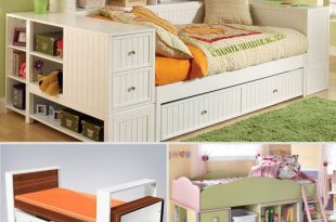 Dillon Lateral Bookcase Bed ($736, originally $1,051) | Kids beds .