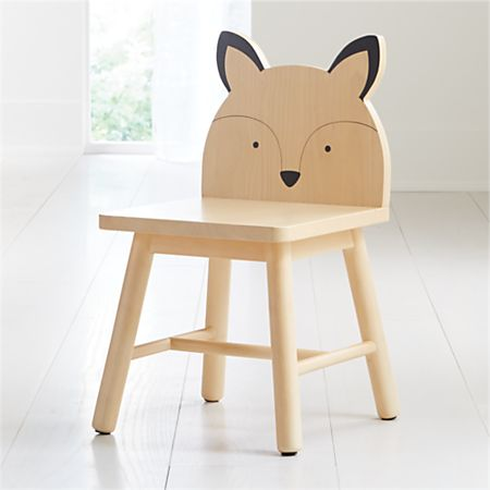 Fox Animal Kids Chair + Reviews | Crate and Barr