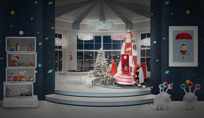 Christmas Decoration Ideas for the Kids' Room | Archi-living.c