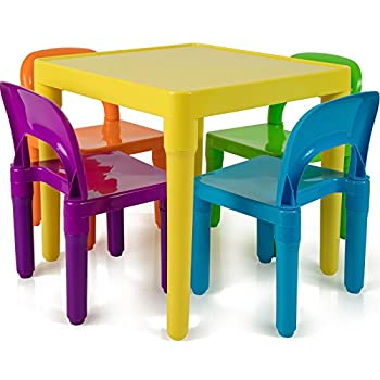 Amazon.com: Kids Table and Chairs Set - Toddler Activity Chair .