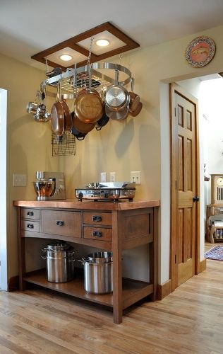 How To Decorate A Kitchen Buffet: 5 Ideas For Ornamental Look .