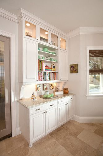 Kitchen Photos Built In Buffet Design, Pictures, Remodel, Decor .