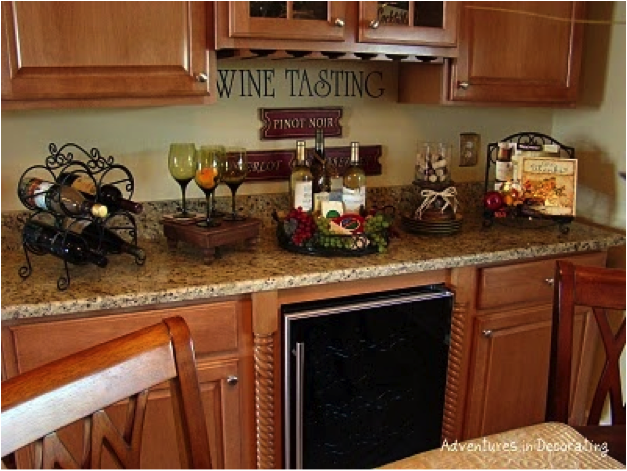 wine decor for kitchen | ... Decorating Your Kitchen With A Wine .