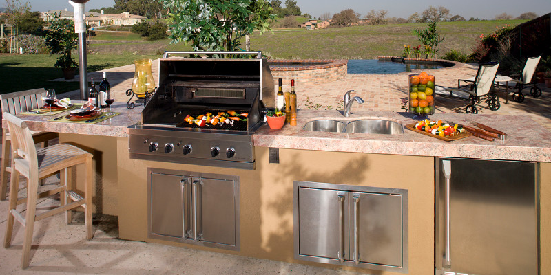 The Best Countertops for an Outdoor Kitchen   The Granite Guy .