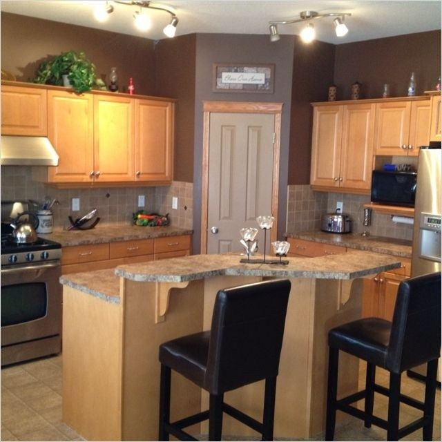 41 Attractive Kitchen with Maple Cabinets Color Ideas | Maple .