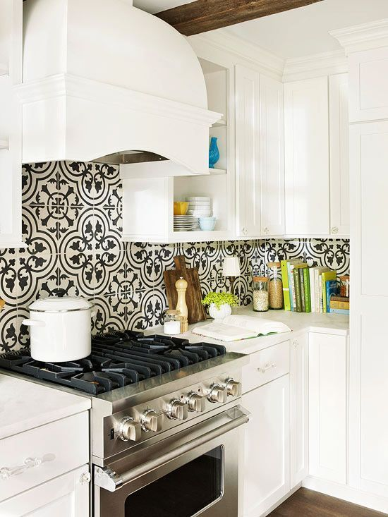 How to Use Kitchen Wallpaper to Update Your Kitchen | Decorated Li