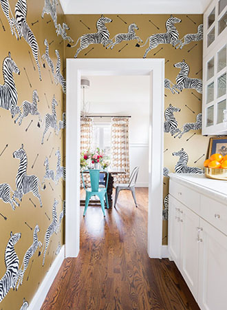 22 Kitchen Wallpaper Ideas To Inspire your Next Upgrade | Décor A