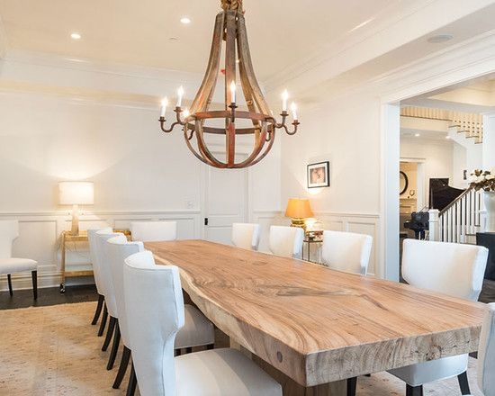 90 Stunning Dining Rooms With Chandeliers | Country dining rooms .