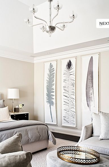 Decorating Large Walls - Large Scale Wall Art Ideas | Home decor .