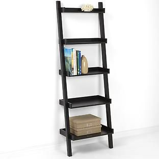 The Container Store > Java Linea Leaning Bookcase (With images .