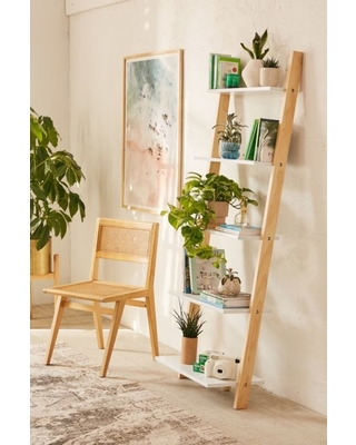 Don't Miss Sales on Leaning Bookshelf - White at Urban Outfitte