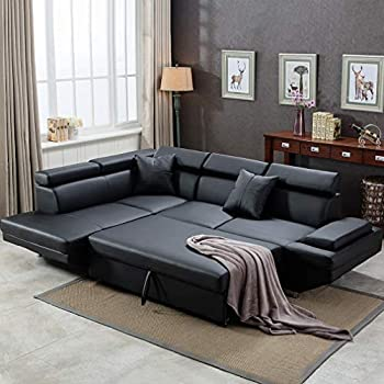 Amazon.com: Best Choice Products Tufted Faux Leather 3-Seat L .