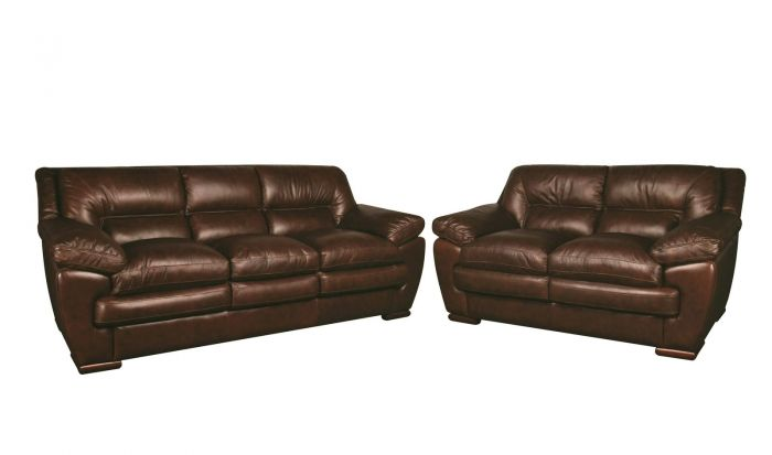 Kingston Leather Sofa and Lovese
