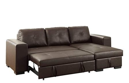 Top 15 Best Leather Sleeper Sofas in 2020 - Complete Gui
