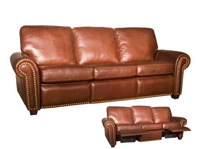 Leather recliner sofa- for the perfect house furnishing - Sofa .