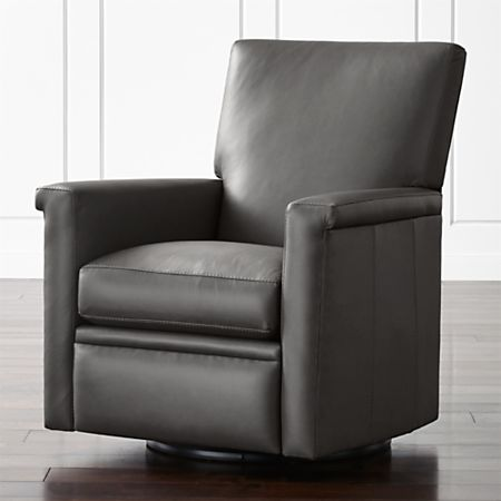 Leather Swivel Recliners