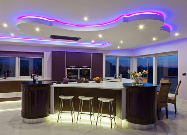 15 Creative Ideas To Lighten Up Your Home With Led Ligh