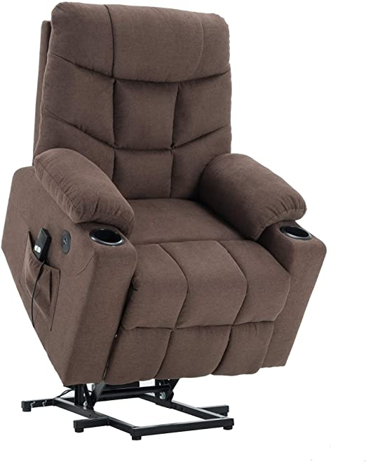Amazon.com: Mcombo Electric Power Lift Recliner Chair Sofa for .